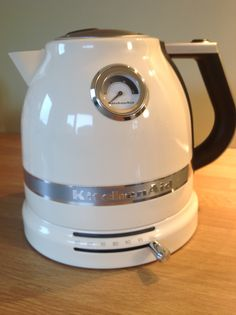 Nice new kettle for my new kitchen ... matches my kitchen Aid mixer.... I love it! LH