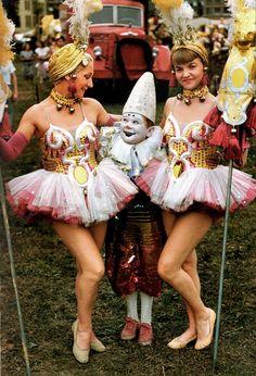 Circus people, 1955