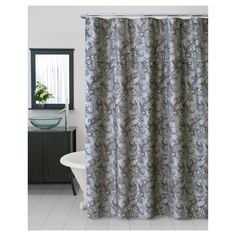 Bella Shower Curtain Beige
