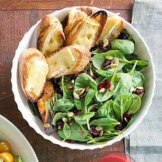 Try this bold spinach salad