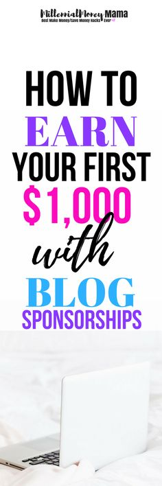 Did you know you can earn thousands from blog sponsorships on your new or small blog? Jenn did it! She has earned thousands weekly on her new (less than 6 months old), small (under 10K page views) blog and now she's sharing her secret strategy for getting the most out of blog sponsorships. Check it out! #blogsponsorship #makemoneyonline #workfromhome #workfromhomeblogging #blogging #makemoneyblogging