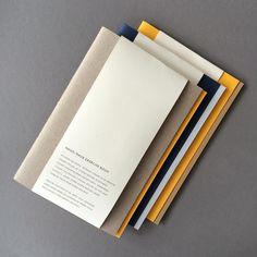 Hand-made exercise books #yellow #blue #grey Available from @harveynicholsmen #gentlemanstationery #modernman #refinedstuff