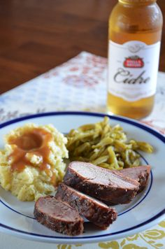 Smoked Maple-Cider Pork Tenderloin by http://mybakingheart.com #perfectpairings #Cidre