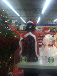 Darth Santa or Vader Claus (for my daughter)