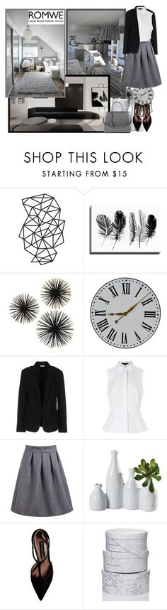 """Romwe.com - Contest!"" by asia-12 ❤ liked on Polyvore featuring Bashian, Maesta, Alexander Wang, Dot & Bo, Steve Madden, Fendi and romwe"