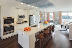 Stunning kitchen in our Verde Model at Victory Lakes