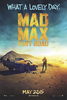 Poster from the movie Mad Max: Fury Road.
