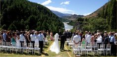 Wedding Ceremony- Canyons Lodge NZ