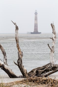 Afternoon Fog over Morris Island Lighthouse, Charleston, South Carolina