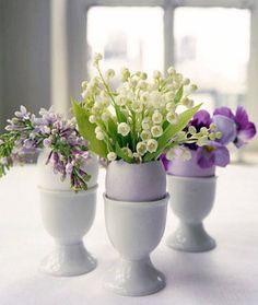 Riempite le uova di fiori!