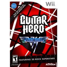 Guitar Hero: Van Halen (Game Only)(Nintendo Wii)