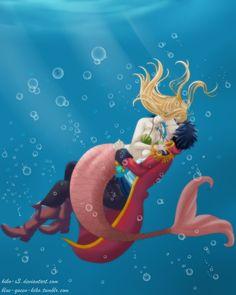 Mermaid [Gray x Lucy] by Kiko-x3 on DeviantArt