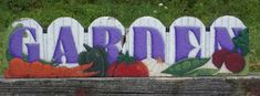 Items similar to 13002 Garden Gate Edger Pattern Oil Creek Originals on Etsy Brick Edging, Concrete Edging, Stepping Stone Pavers, Garden Edger, Painting Concrete, Rock Painting, Brick Crafts, Landscape Bricks, Painted Rocks