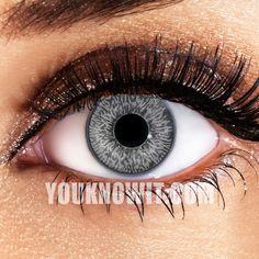 Mystic Grey Contact Lenses (Pair)