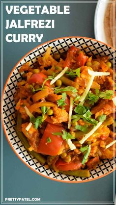 Vegetable Jalfrezi is a popular north Indian curry. It is made using lots of vegetables and tomatoes. It is a delicious rich vegan and gluten free Indian curry. Recipe by prettypatel.com   via @pretty_patel