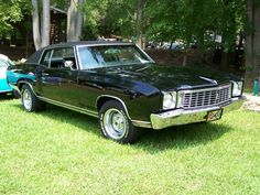 1972 Chevrolet Monte Carlo ... Black exterior we have to get one they are gorgeous xxx @ajdoccarlson xxx