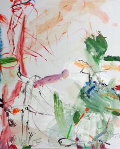 Springbreak 3, 2015, 150 x 120 cm, Acryl/Eitempera auf Leinwand