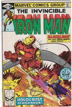 Iron Man, #147 1981. Blacklash. Bob Layton