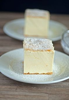 Is this Cream Slice from Slovenia?   Oh, I so hope so!!!!  The one and only cream pie: Krempita!