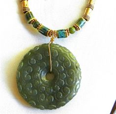 VINTAGE,CHINESE OLD YELLOW JADE HANDWORK CARVED LOVELY DRAGON PENDAN #3