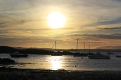 Sunset at Rhosneigr bay Anglesey