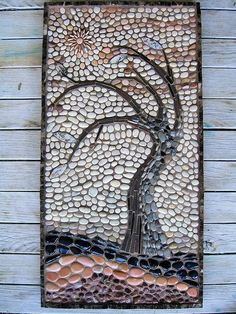 mosaic on stump | Collect Collect this now for later
