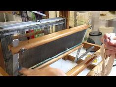 http://www.YARN.com -- Learn how to warp a loom from back to front with WEBS yarn store founder Barbara Elkins. Need to wind your warp first? Check our our H...