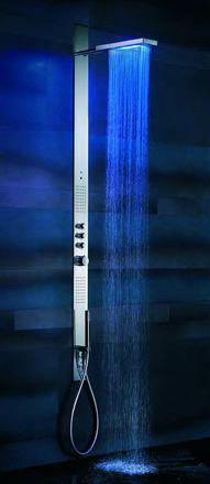 Fantini Acquazzurra LED shower panel