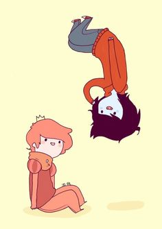 Image result for marshall lee and prince gumball