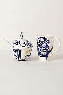 Anthropologie - Jardin Des Plantes Tea Set