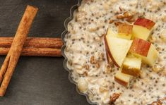 Image #7 Chia Puding, Oatmeal, Bread, Cheese, Breakfast, Smoothie, Food, Image, Diet