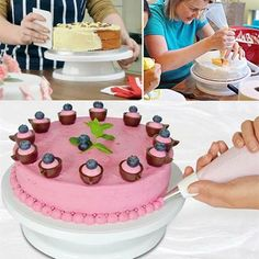 Cake Decorating Turntable – Go Go Kitchen Gadget