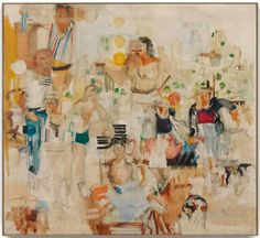 The Journey, Larry Rivers, 1956