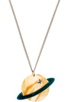 Planet Necklace - Amber £35 (sale £25) - AW13 Sky Lab