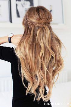 Peinados para un evento especial, una fiesta o una boda #peinados #hair #hairstyle #ideas #inspiration