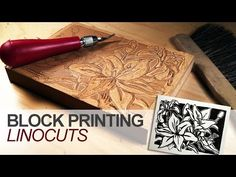 The Linocut Process.mov - YouTube