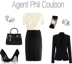 """""""Agent Phill Coulson"""" by felromero on Polyvore"""