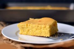 Mantecada (Colombian corn cake) is one of those recipes you can make in no time at all. Try it next time you have a craving for something sweet!