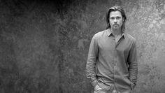 Brad Pitt in the Chanel N°5 ad.