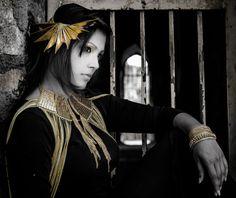 beautiful , gold brass jewellery by 'Malleka' find us on www.facebook.com/mallekastudio