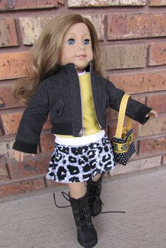 American Girl Doll Clothes: Five Piece Bomber Jacket Set on Etsy, $41.00
