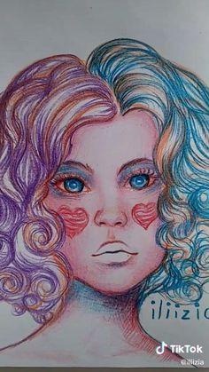 Meaningful Drawings, Chicano Art, Pen Art, Art Drawings Sketches, Disney Art, Creative Art, Art Inspo, Art Girl, Amazing Art
