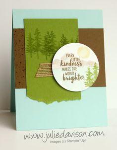 Watefront: Mountain Lake Kindness Card