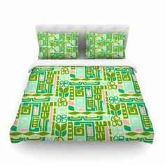 East Urban Home Maze by Amy Reber Featherweight Duvet Cover Size: Queen