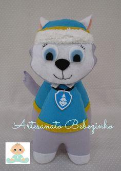 Artesanato Bebezinho: Patrulha Canina Feltro