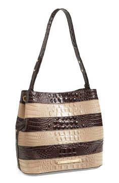 Brahmin 'Camden - Vineyard' Leather Bucket Bag available at #Nordstrom