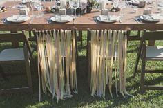 ribbon chairs...always coming back to these. think is a must do.