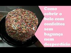 A maneira mais fácil de aplicar confeitos em seus bolos- Denise Ferreira