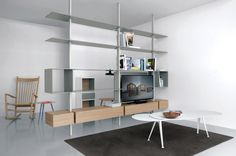 SY02 sistema de Extendo |  gabinetes AV