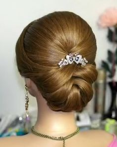 Wedding Hairstyles For Long Hair Updo Hairdos Best Ideas Easy Hairstyles For Medium Hair, Wedding Hairstyles For Long Hair, Bride Hairstyles, Medium Hair Styles, Short Hair Styles, Trendy Hairstyles, Styles Bob, Bun Styles, Long Haircuts